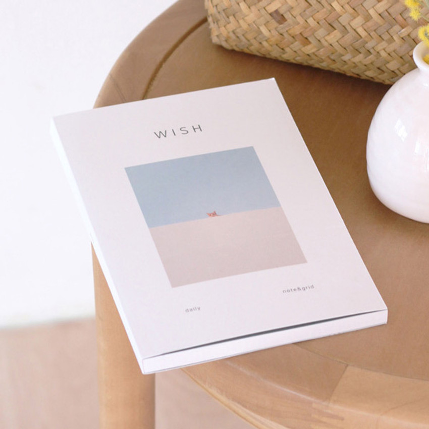 Cat - Dash And Dot As your wish daily lined blank grid notebook