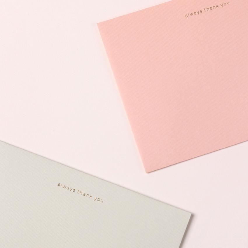 Envelope - My illustration letter always thank you envelope set ver2