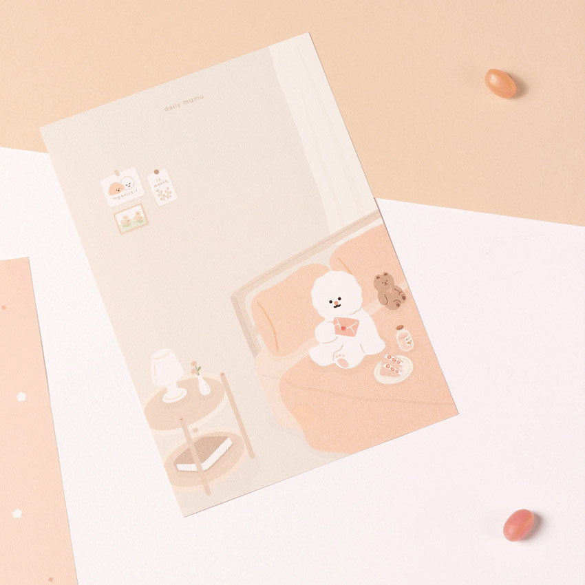 Usage example - My illustration letter always thank you envelope set ver2