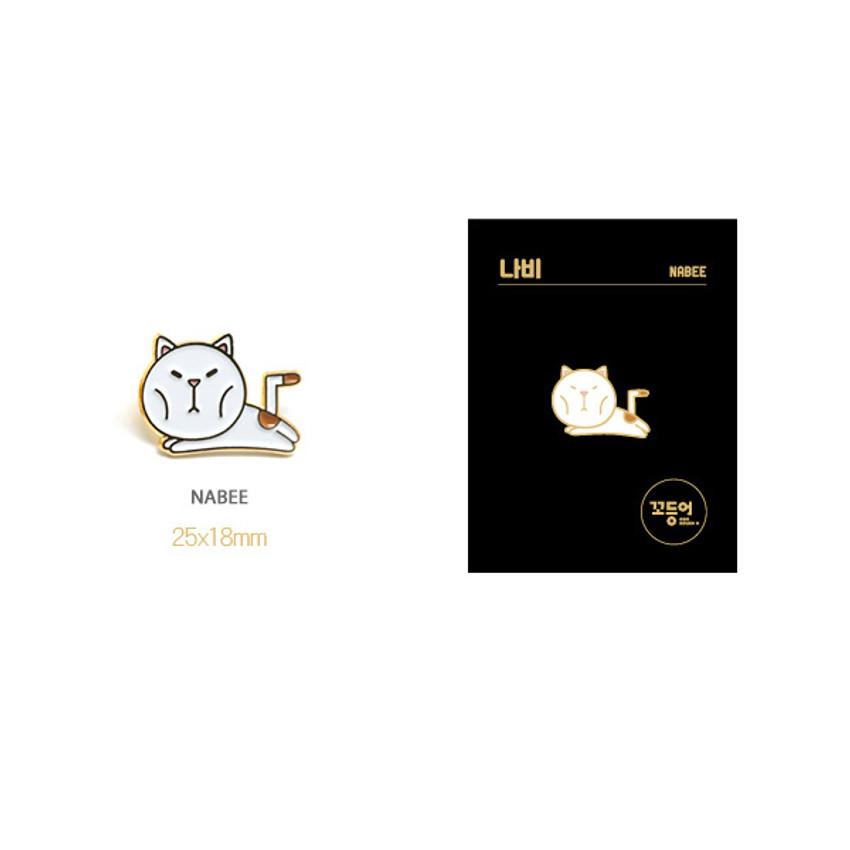 Nabee - DESIGN IVY Ggo deung o friends pin badges ver2