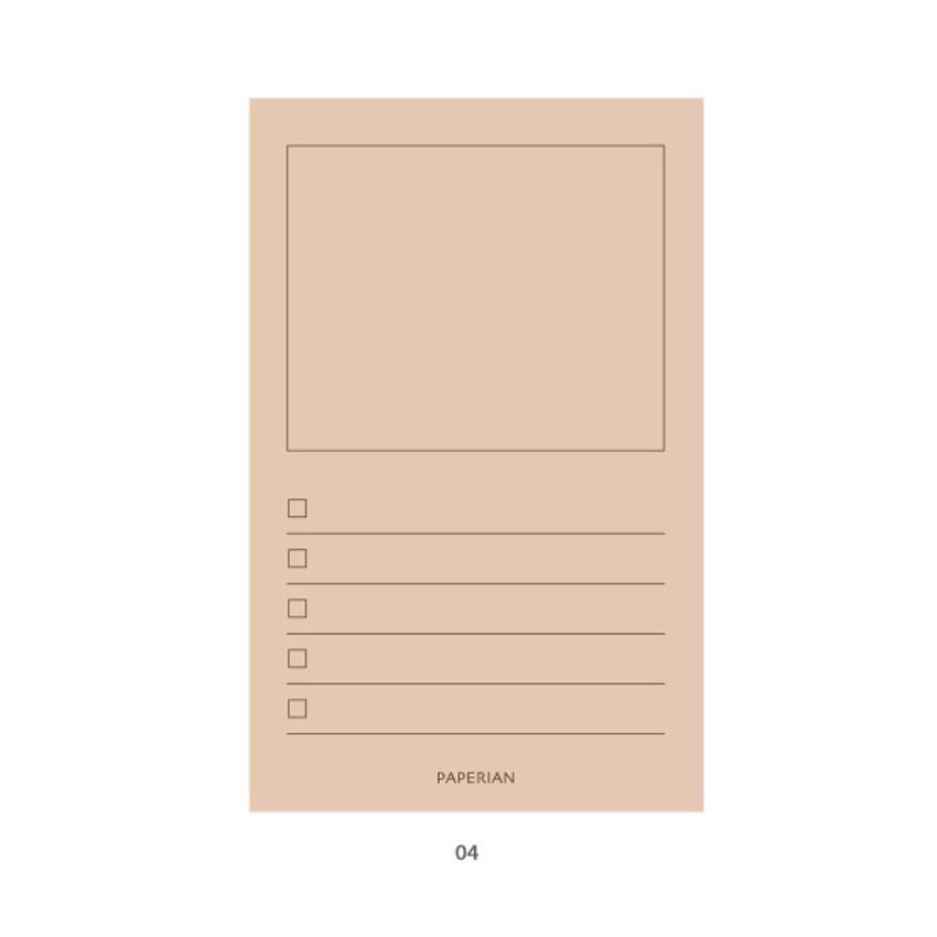 04 - PAPERIAN Make a memo my checklist notepad