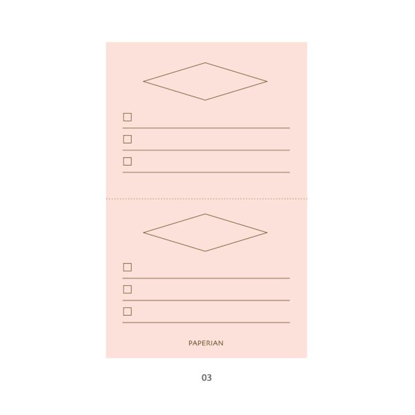 03 - PAPERIAN Make a memo my checklist notepad