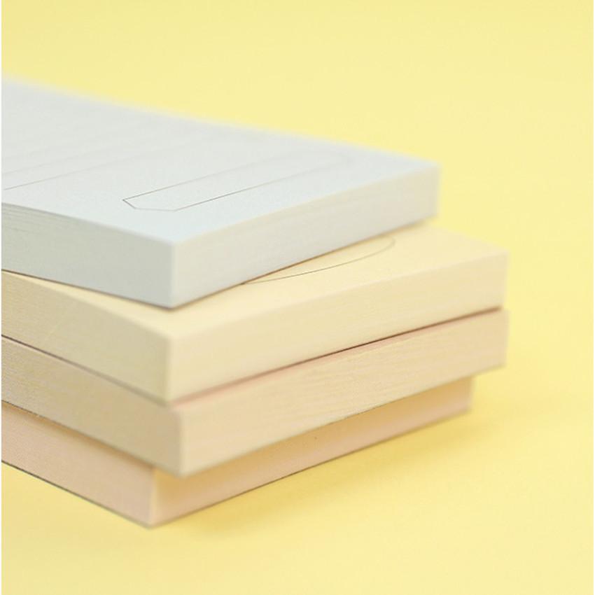 80 sheets - PAPERIAN Make a memo my checklist notepad