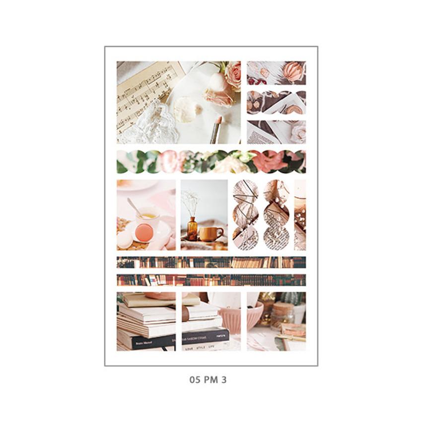 05 PM3 - PLEPLE Mood deco photo paper sticker set