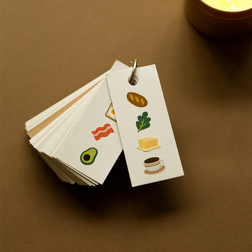 Usage example - Dailylike Good morning removable paper diary deco sticker seal