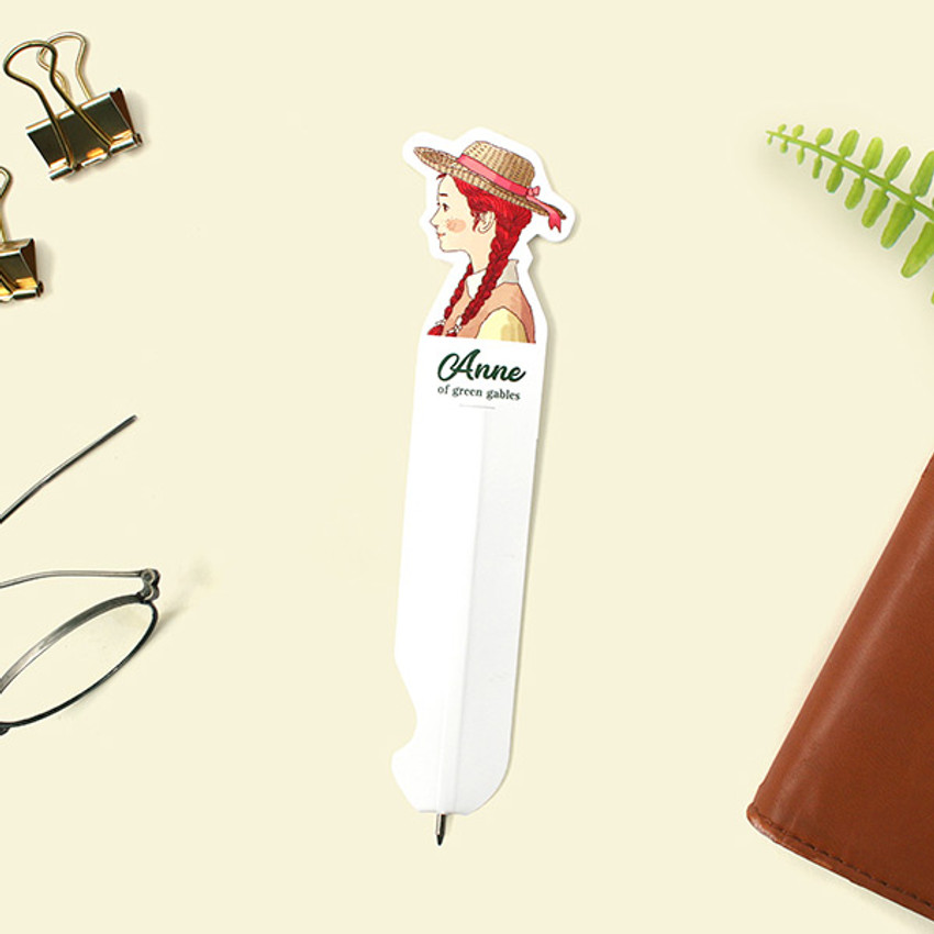 Anne of Green gables - Bookfriends World literature 0.8mm slim bookmark pen