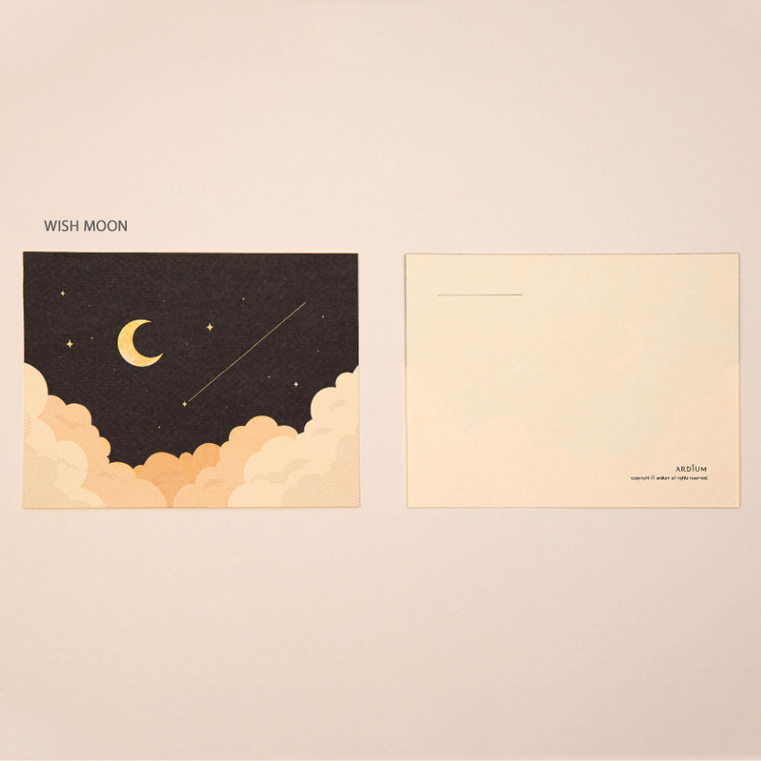 Wish Moon - Ardium The memory of the moon postcard