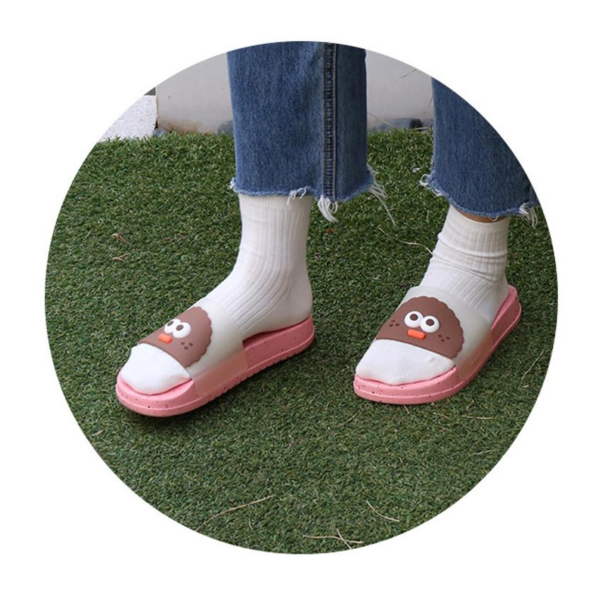 Strawberry chips - ROMANE Brunch Brother chips pop eye slide slipper sandal
