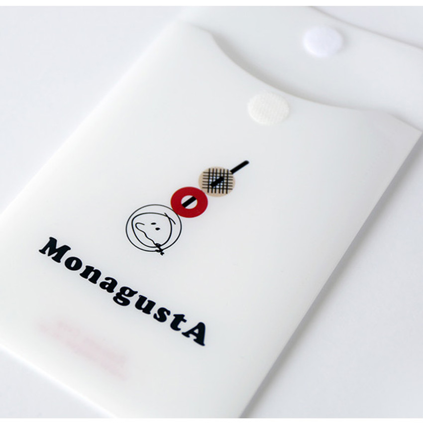 Comes with a pocket - ROMANE MonagustA removable deco sticker pack