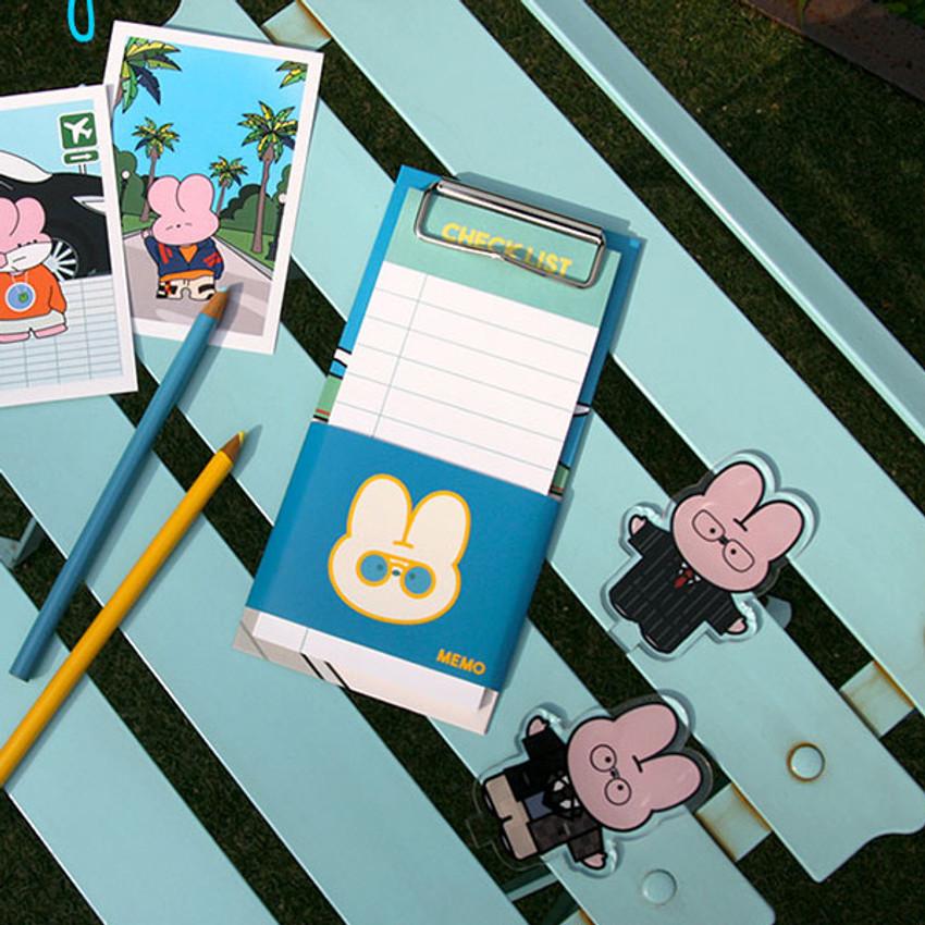 Nice day - Reeli clipboard memo holder with checklist notepad