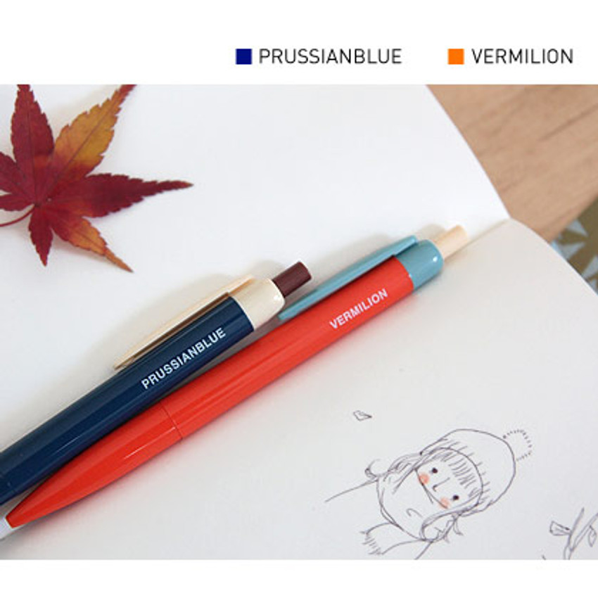 Prussianblue and Vermilion