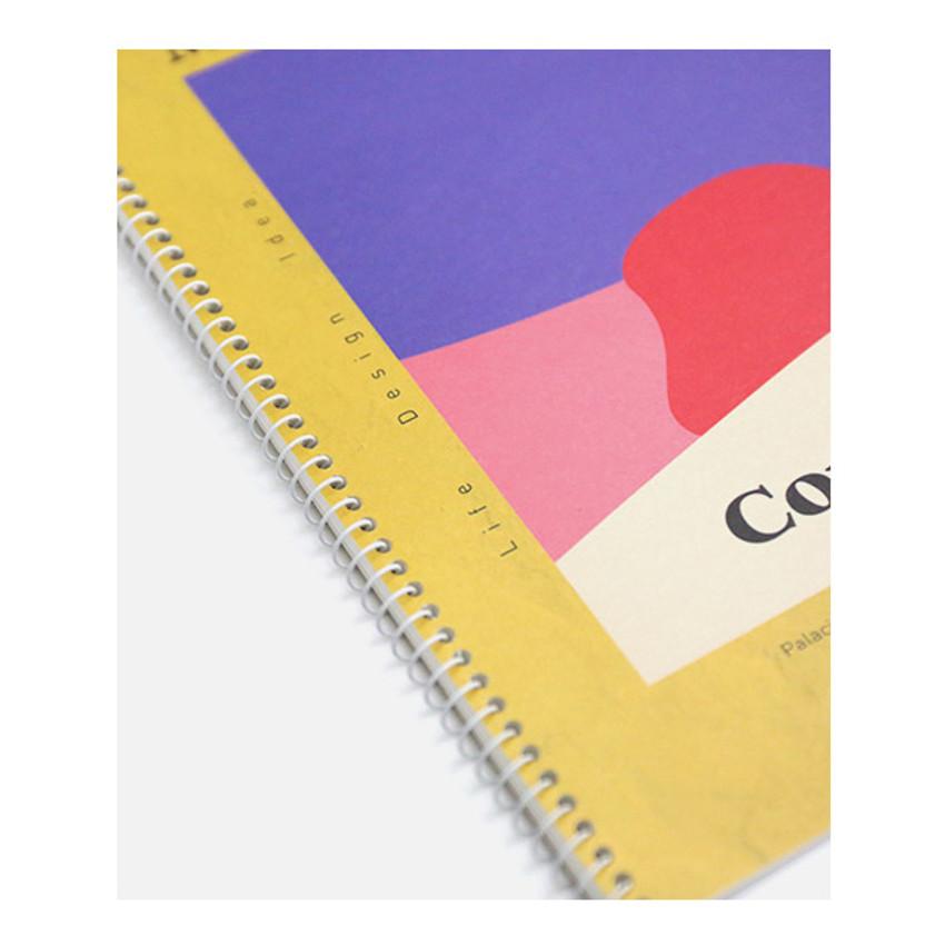 Spiral bound - ROMANE MonagustA spiral bound lined notebook