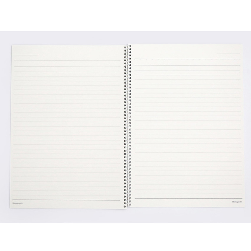 Lined pages - ROMANE MonagustA spiral bound lined notebook