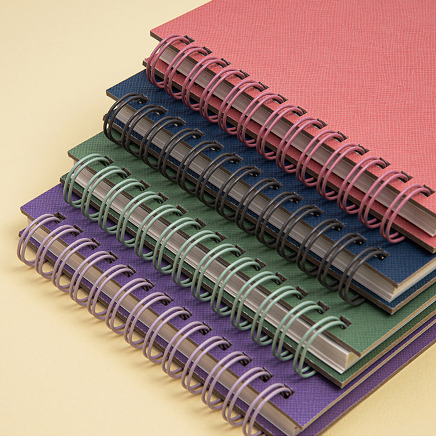 Wire bound - Ardium Color large spiral bound lined notepad