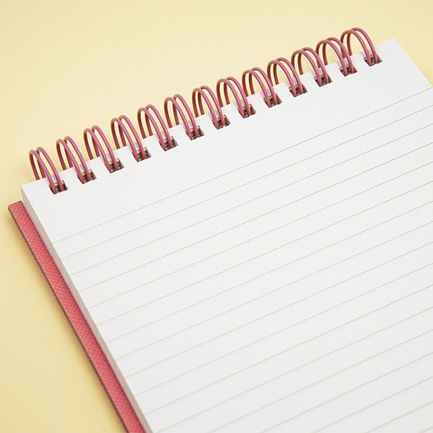 Lined page - Ardium Color medium spiral bound lined notepad