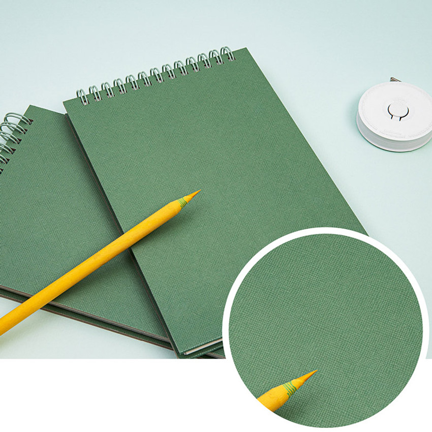 Coated cover - Ardium Color medium spiral bound lined notepad