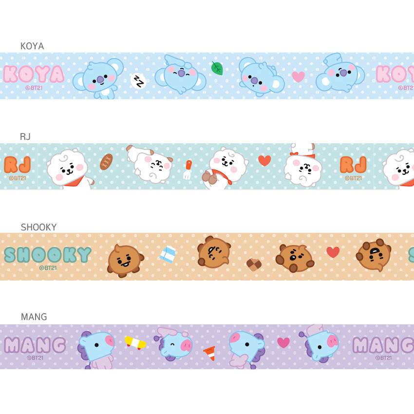 Option - BT21 Baby neck strap