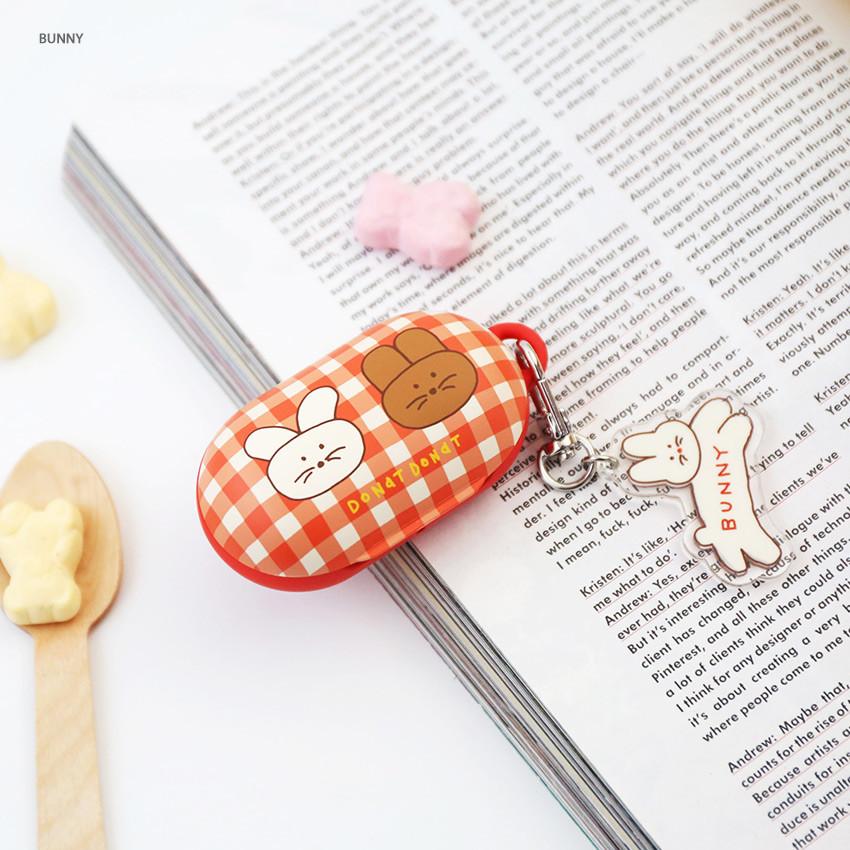 Bunny - ROMANE Donat Donat Galaxy Buds case cover