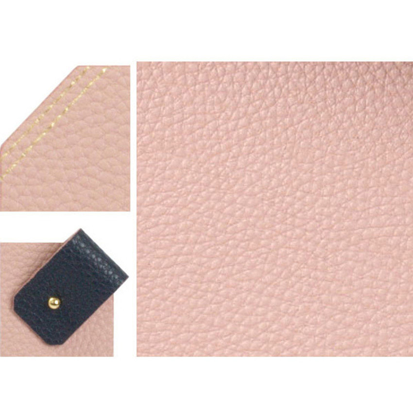 Detail of loiloi PU coated cow leather two-way mouse pad