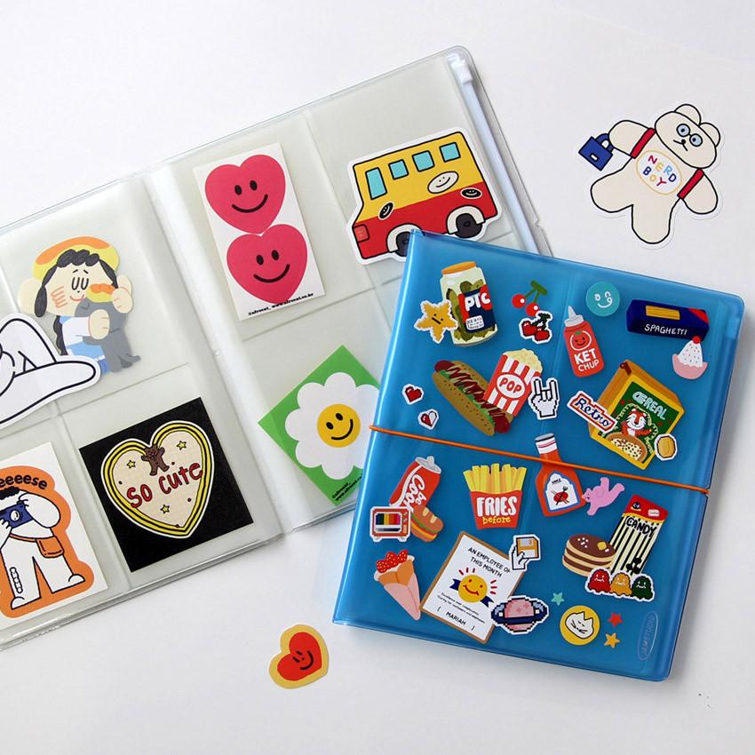 Usage example - Jam Studio Moa Moa slip in pocket game card book album