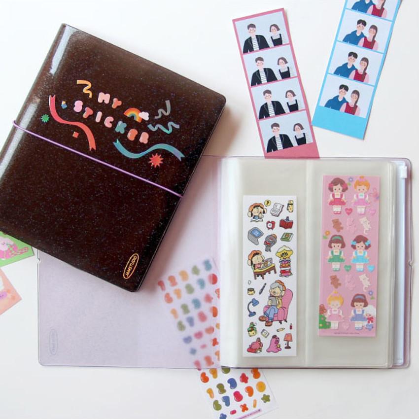 Jam Studio Moa Moa slip in pocket sticker seals book album