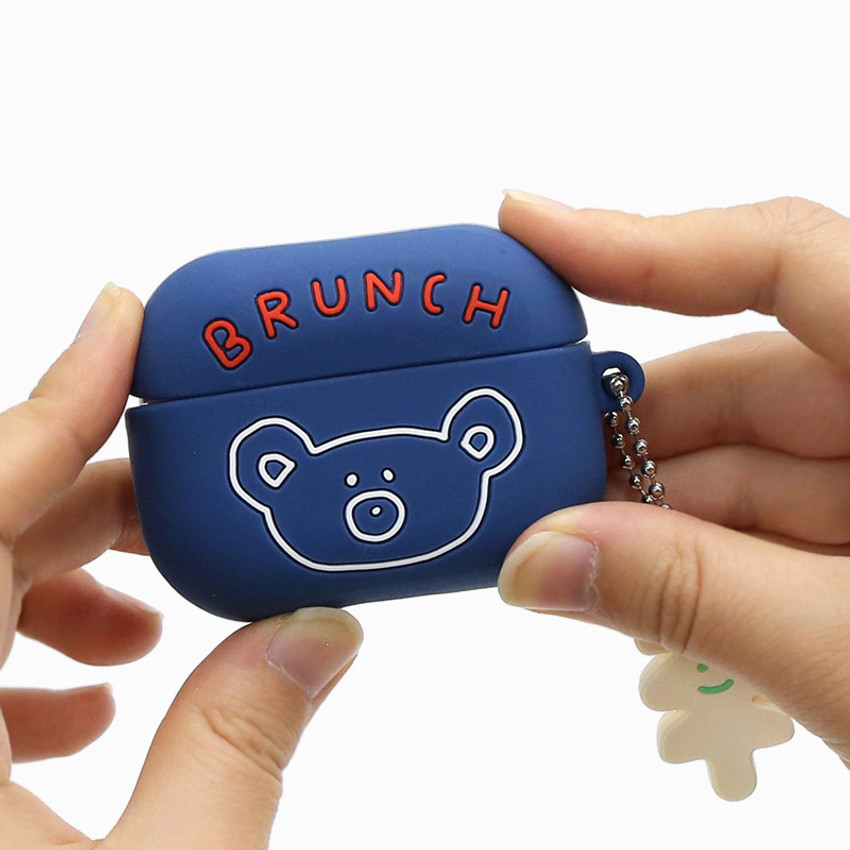 Navy - Brunch brother Airpods pro silicone case