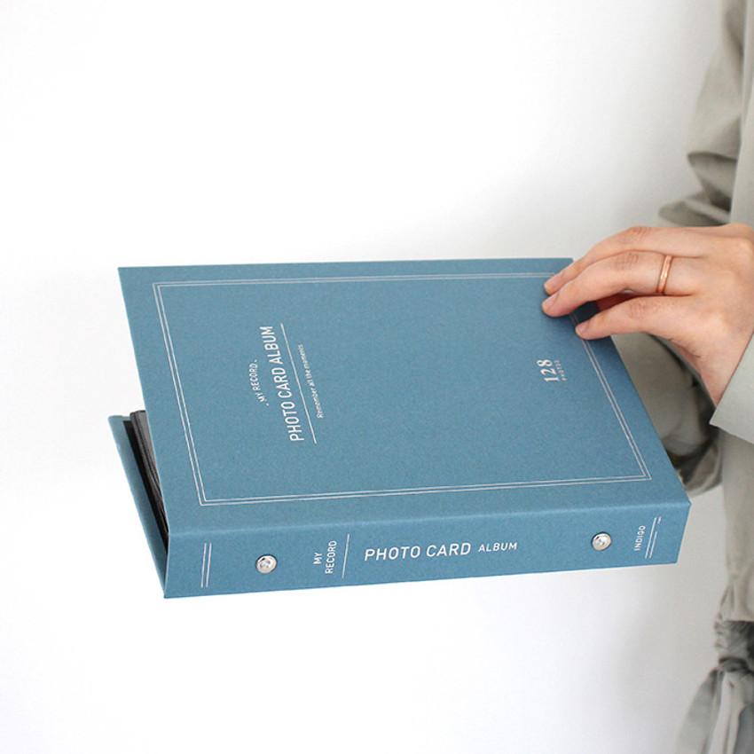 Usage example - My record Instax mini polaroid slip in pocket photo album