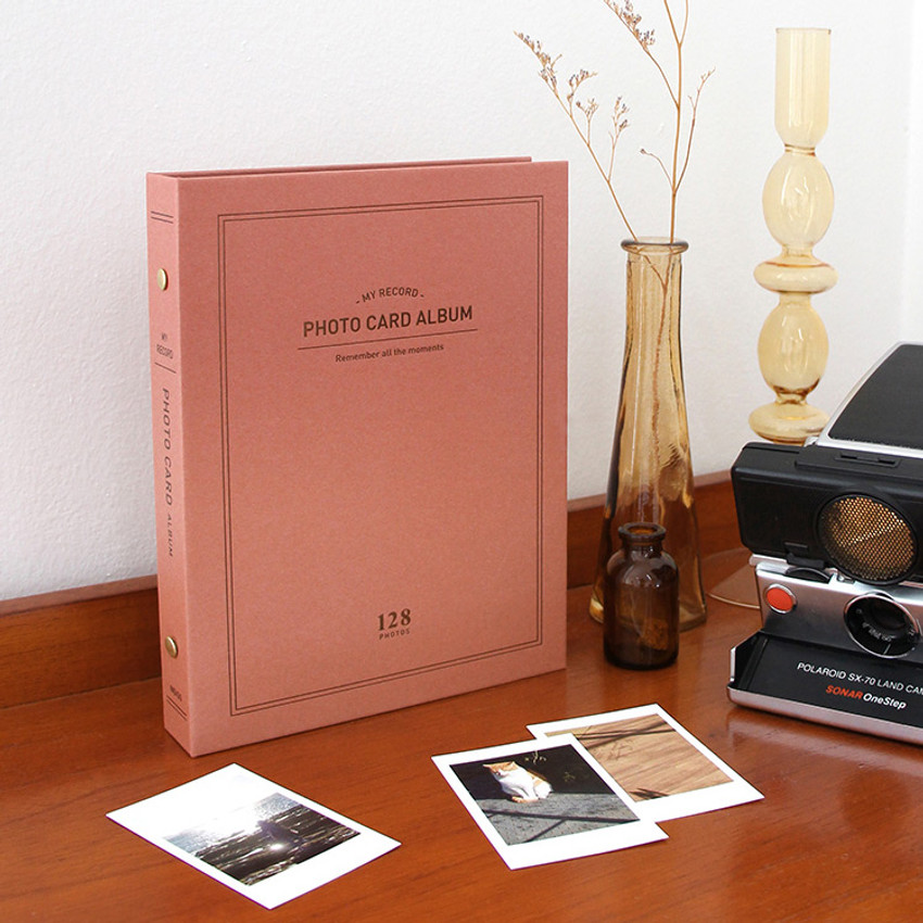 Brick - My record Instax mini polaroid slip in pocket photo album