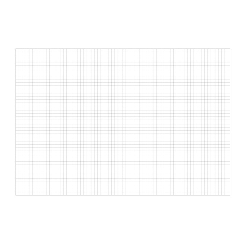 Grid paper - Indigo Prism 56 spiral bound B5 grid notebook