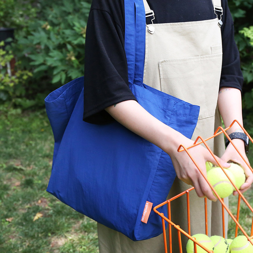 AZUL - ROMANE MonagustA nylon shoulder bag