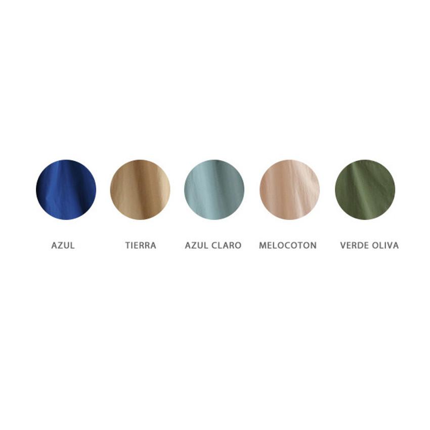 Color - ROMANE MonagustA nylon drawstring crossbody bag