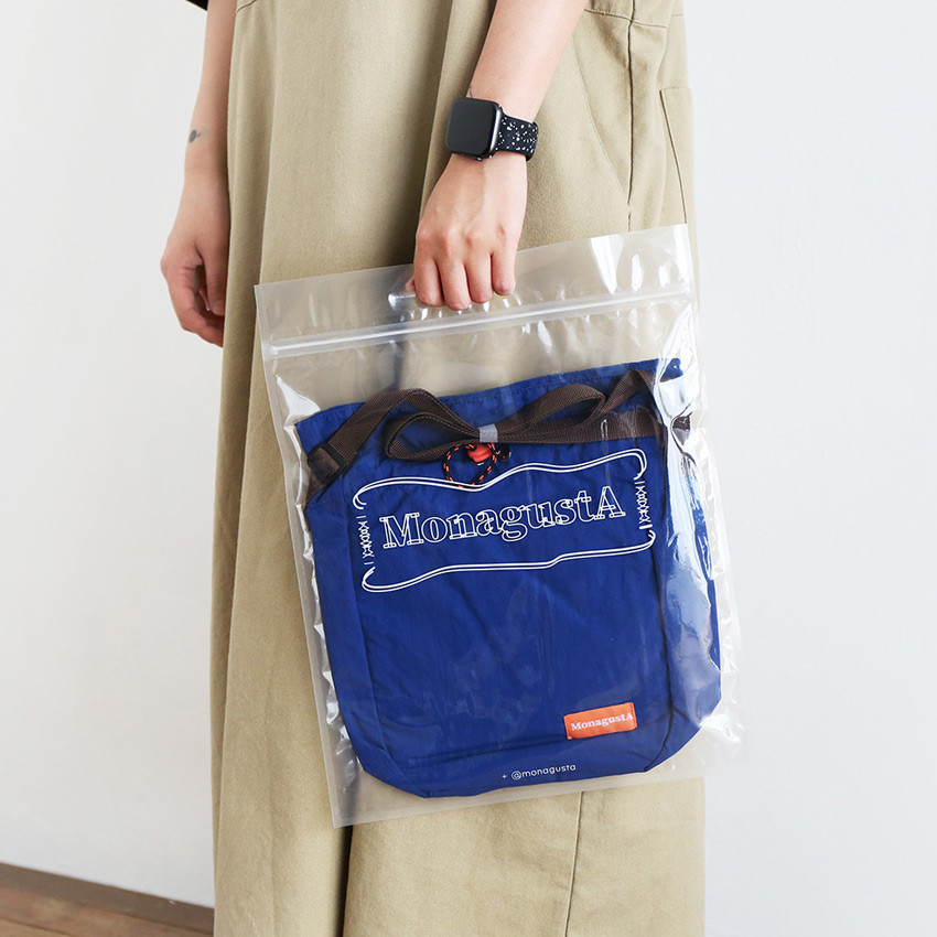 Package - ROMANE MonagustA nylon drawstring crossbody bag
