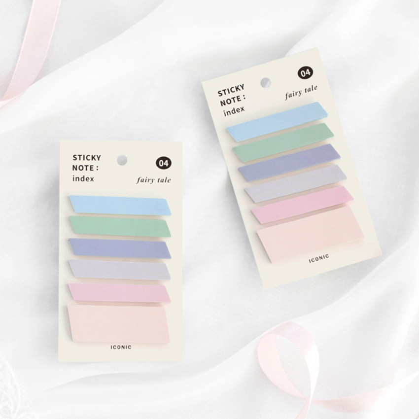 04 Fairy Tale - ICONIC Index sticky memo point bookmark set