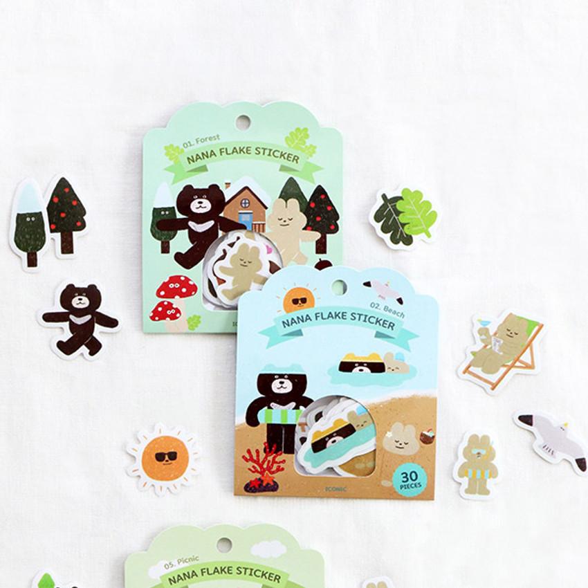 ICONIC Nana cute sticker pack