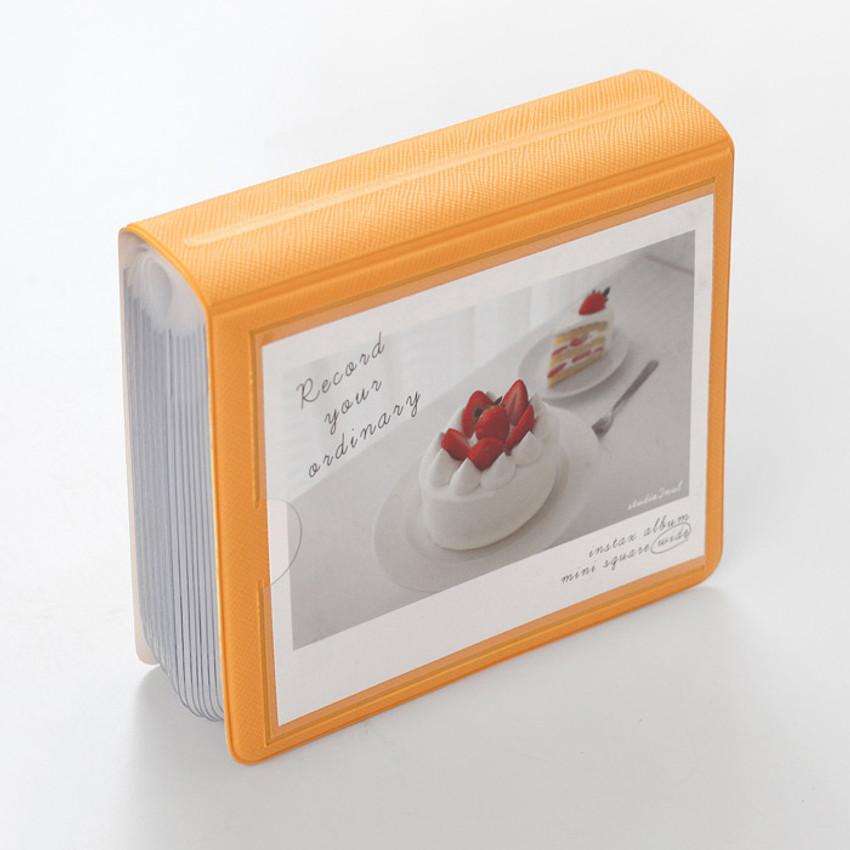Mandarine - 2NUL Instax wide slip in the pocket photo album