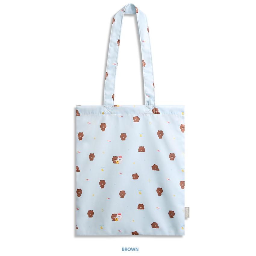 Brown - Monopoly Brown friends mini pattern shoulder bag