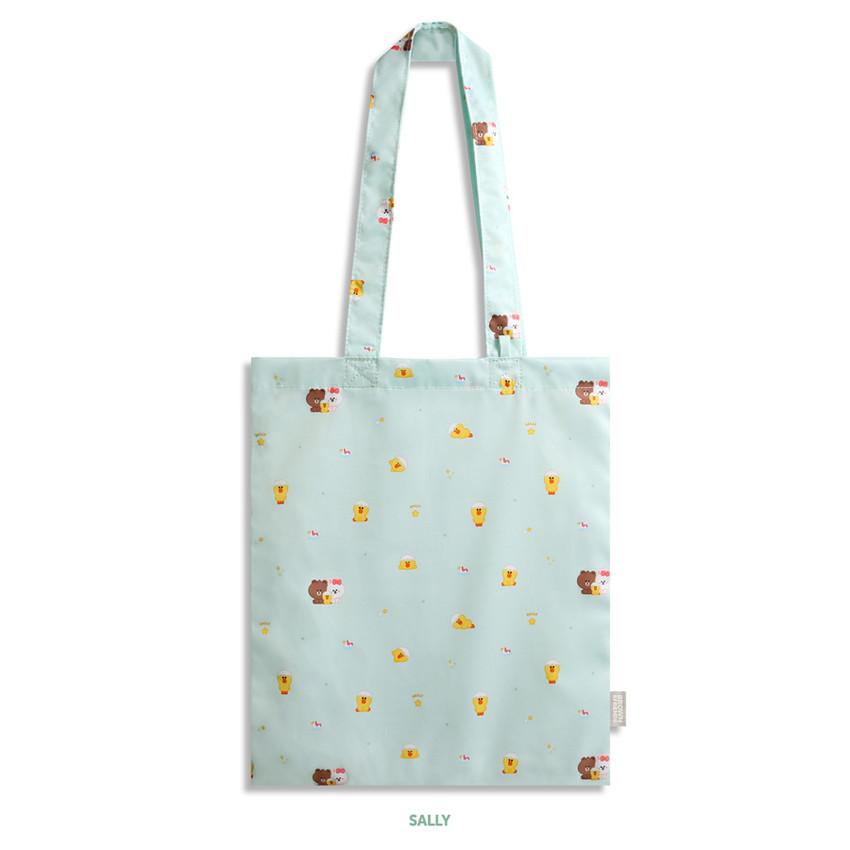 Sally - Monopoly Brown friends mini pattern shoulder bag