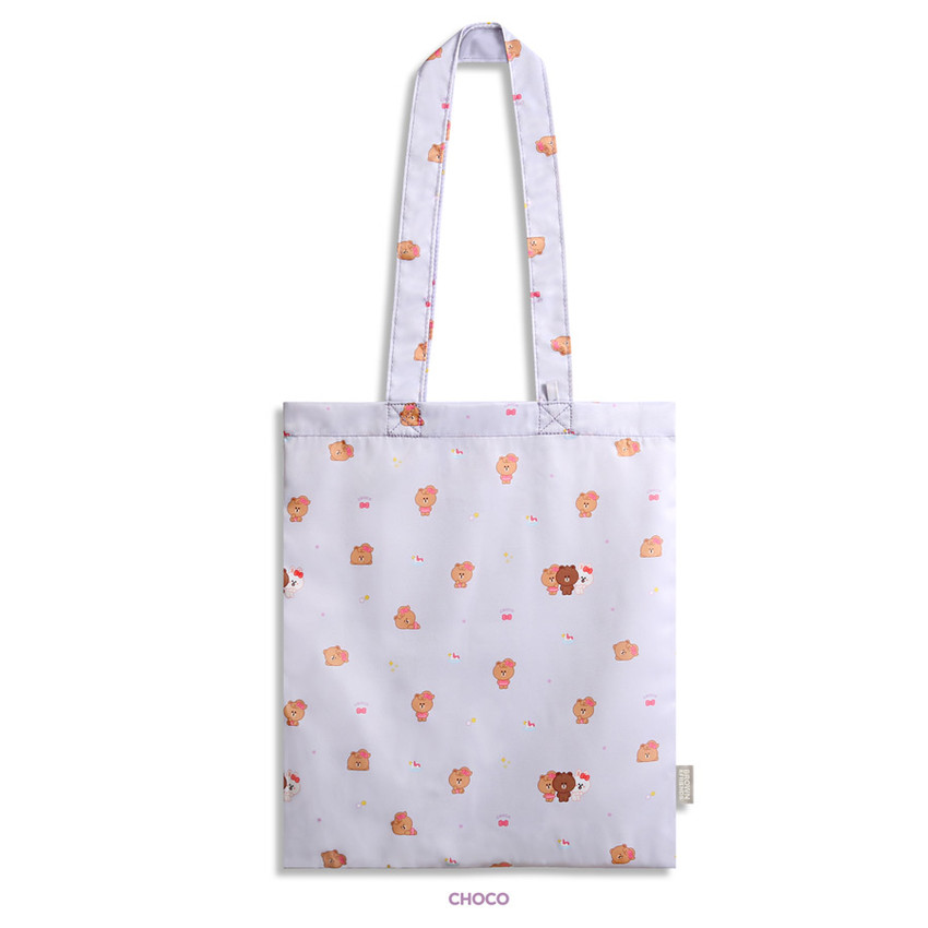 Choco - Monopoly Brown friends mini pattern shoulder bag