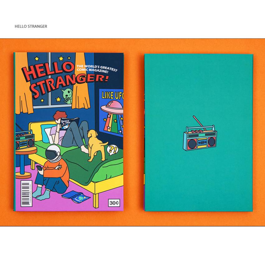 Hello stranger - Ardium Colorpoint like dateless monthly planner scheduler