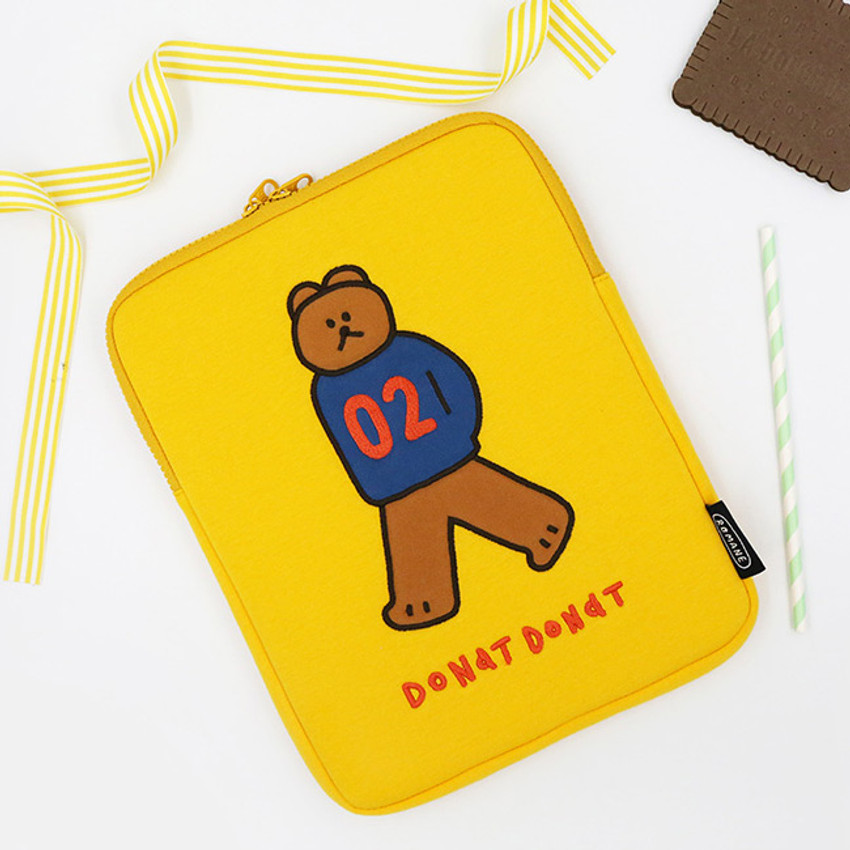 Donat Donat bear iPad tablet PC 11 inches sleeve case