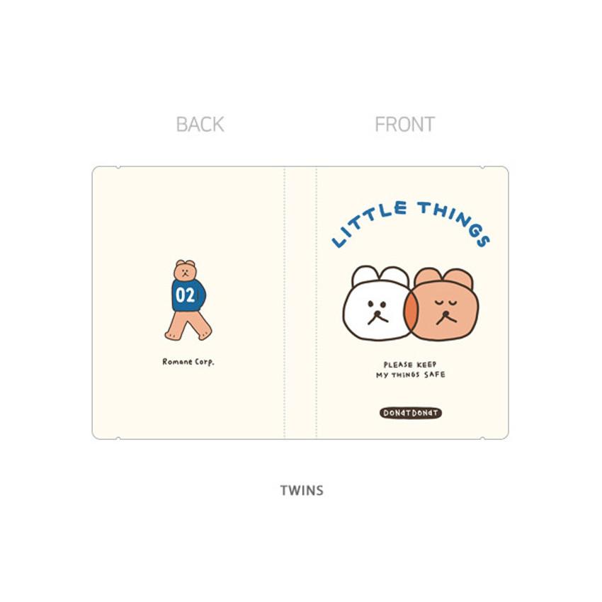 Twins - ROMANE Donat Donat small and photo pocket folder album