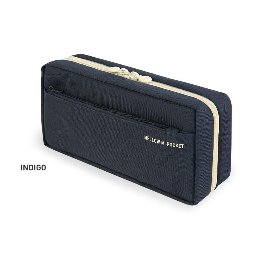 Indigo - Monopoly Mellow M-pocket zipper pencil case pouch ver2