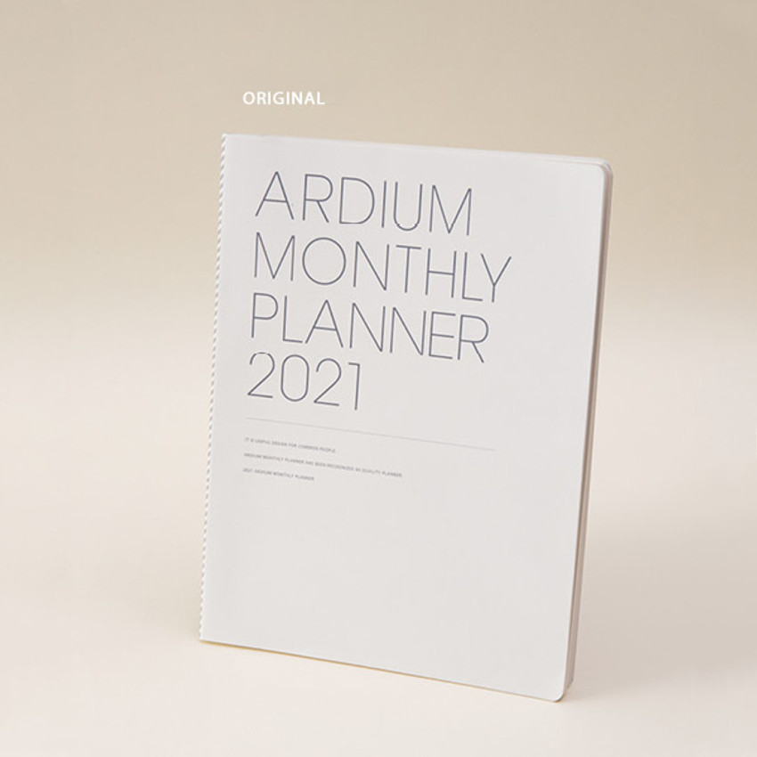 Original - Ardium 2021 large dated monthly planner scheduler