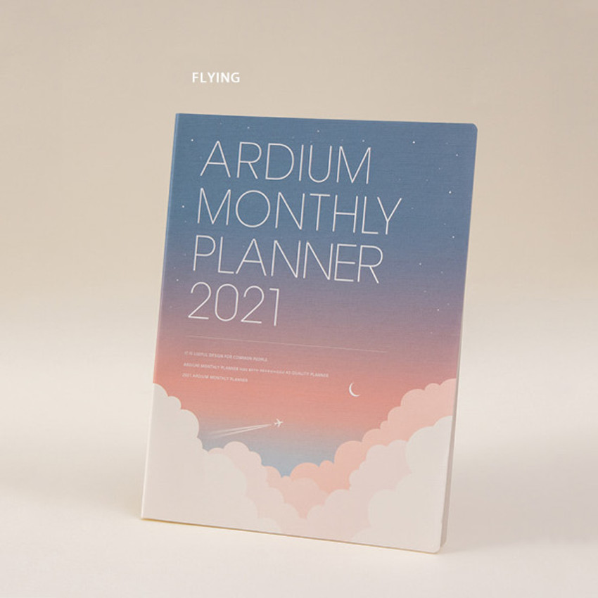 Flying - Ardium 2021 large dated monthly planner scheduler