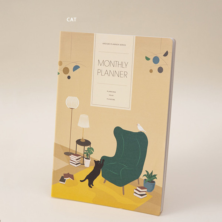 Cat - Ardium 2021 large dated monthly planner scheduler