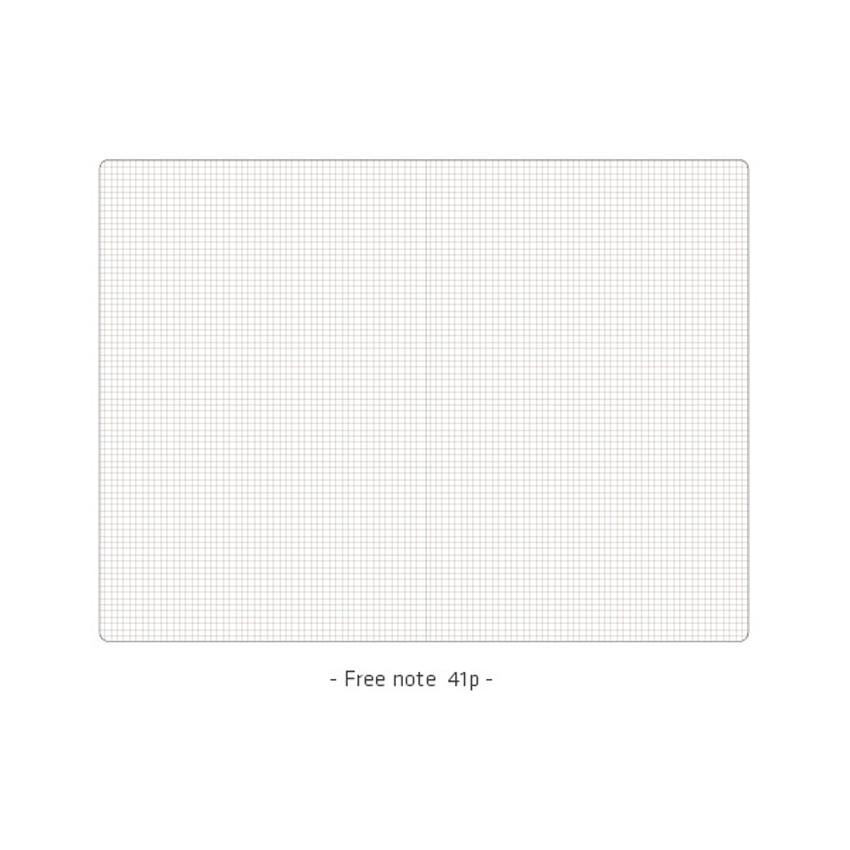 Grid note - Ardium 2021 Simple medium dated weekly planner scheduler