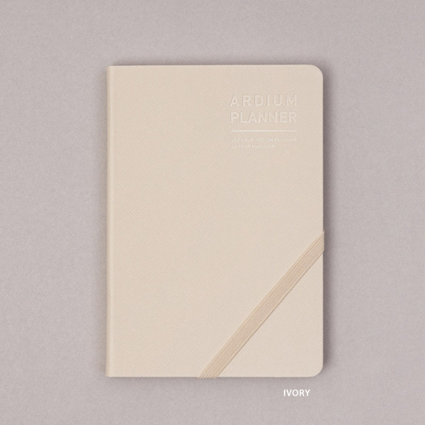 Ivory - Ardium 2021 Simple medium dated weekly planner scheduler