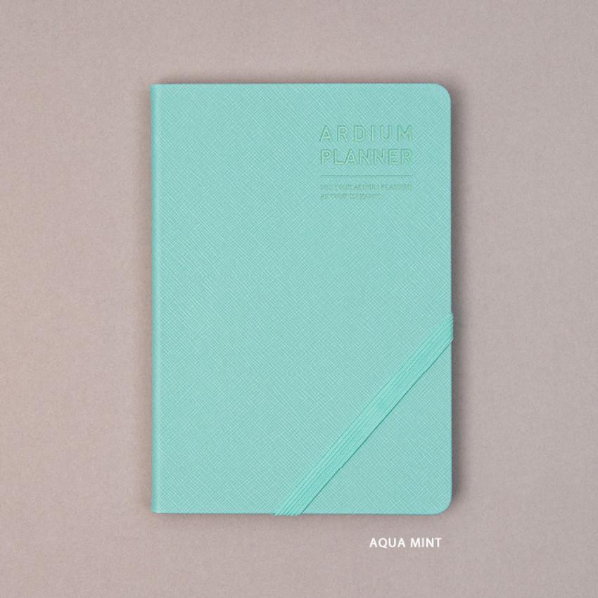 Aqua mint - Ardium 2021 Simple medium dated weekly planner scheduler