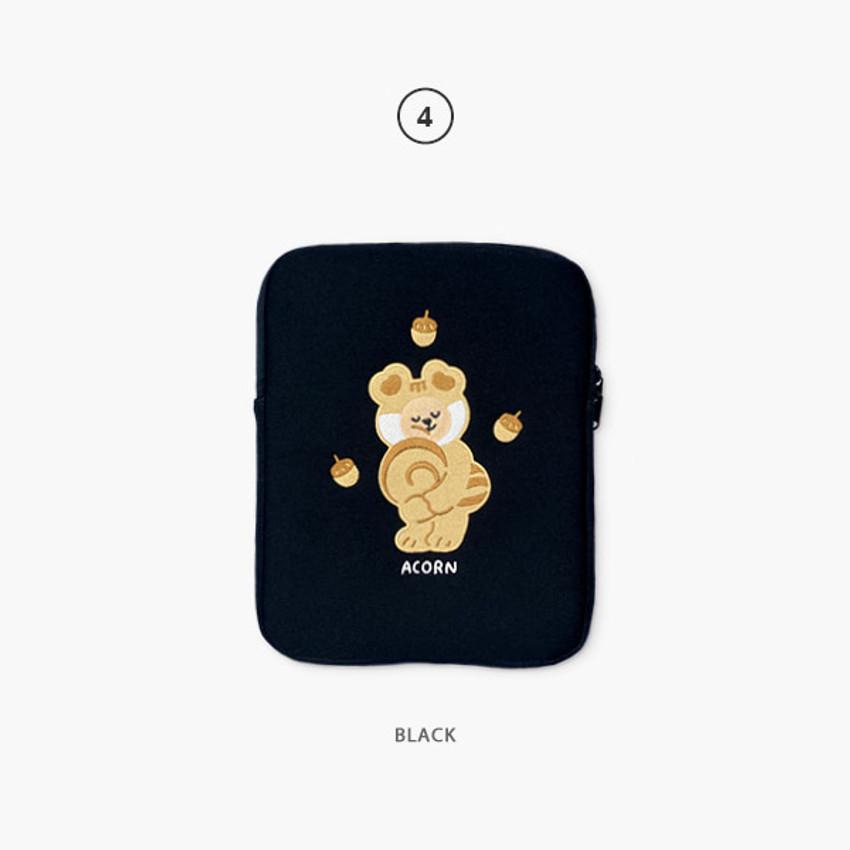 04 Black - Juicy bear iPad pro tablet PC 11-inch sleeve case