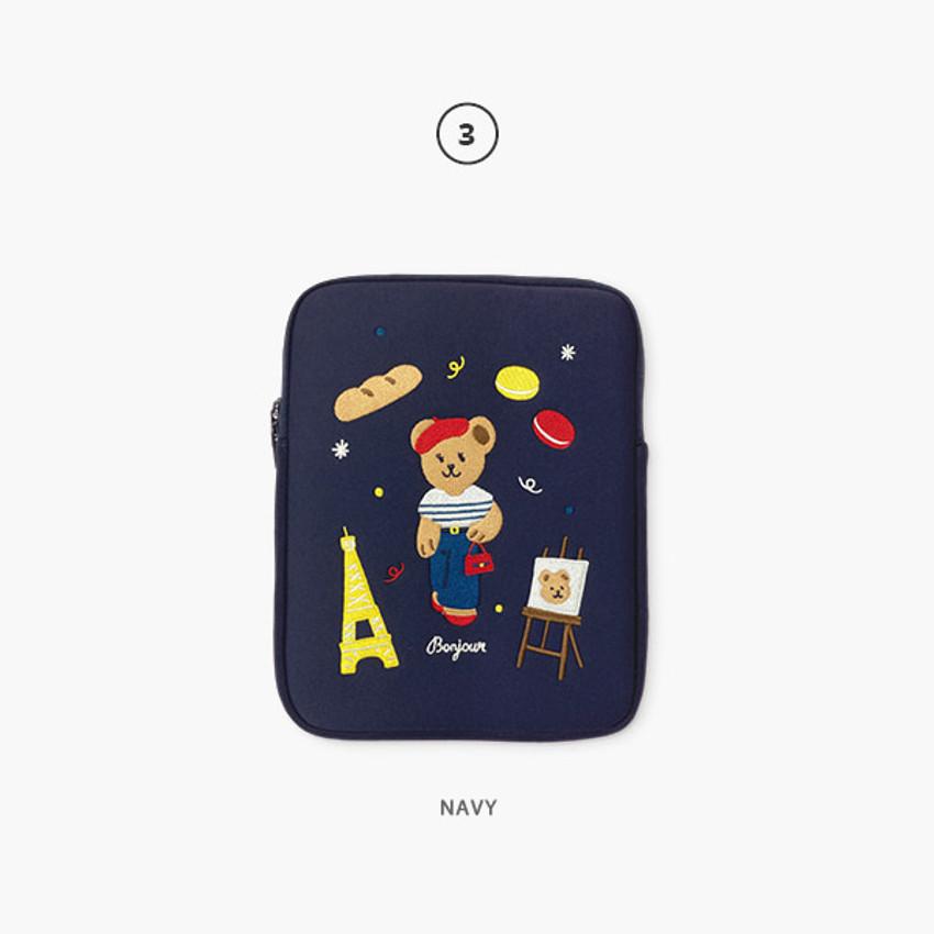 03 Navy - Juicy bear iPad pro tablet PC 11-inch sleeve case
